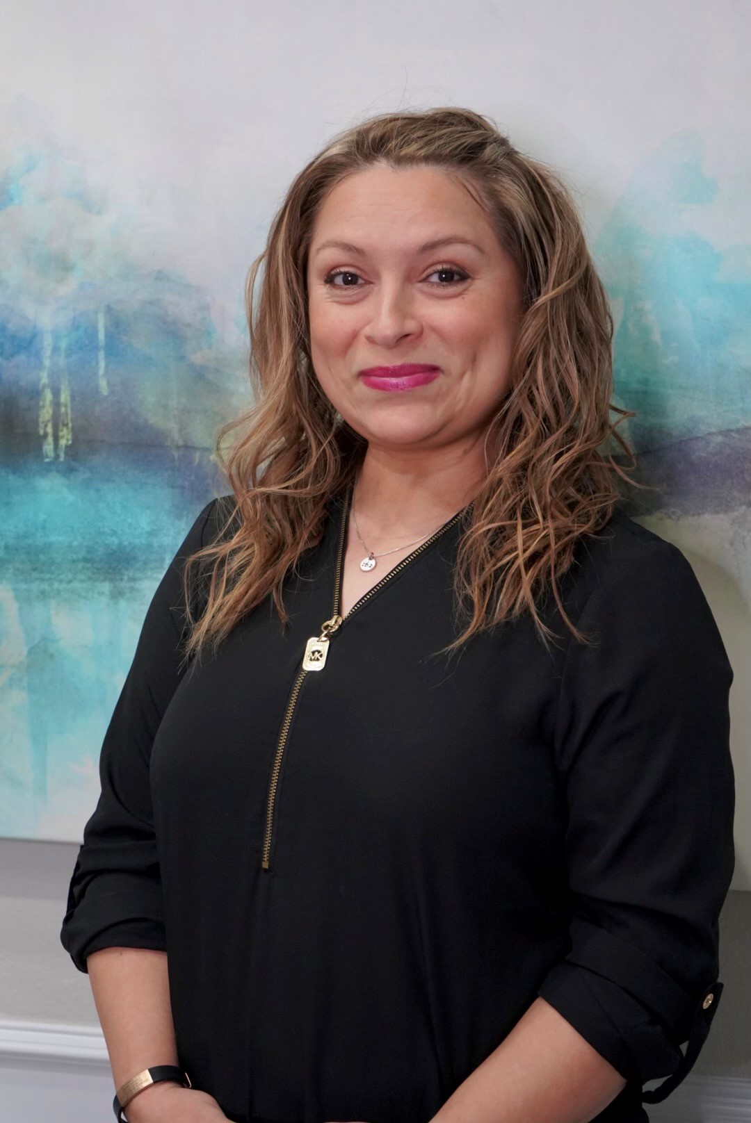 Blanca, employee at Lauren Standefer & Associates DDS in McKinney, Texas
